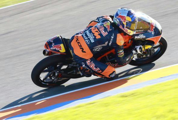 Moto3, Canet prima pole. Battuto Binder; 4° Bulega