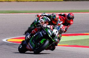 Jonathan Rea vince Gara 1 al Motorland Aragon
