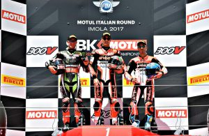 SBK Imola 2017 podio Gara 1 - photo credit Luca Nava
