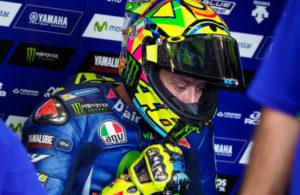 Valentino Rossi torna in pista ad Aragon