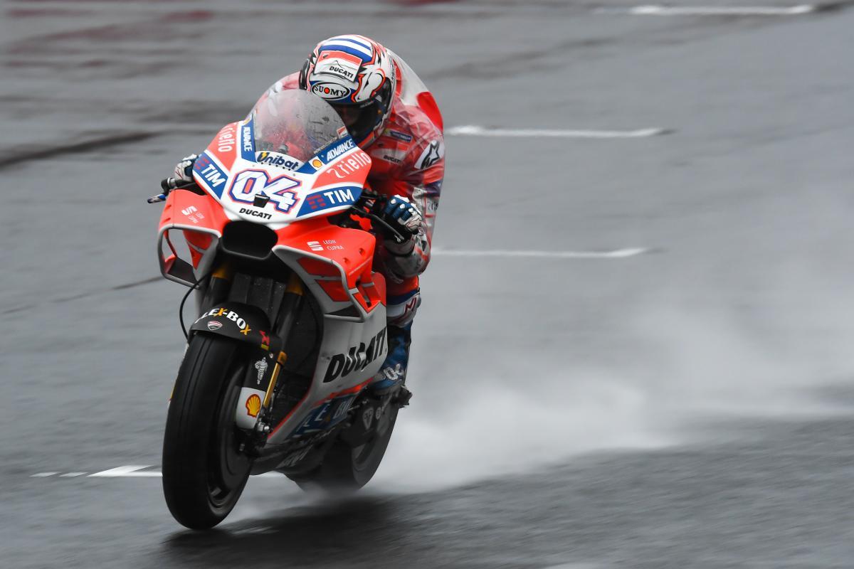 MotoGP, Motegi: le prime prove libere del GP del Giappone vanno a Dovizioso