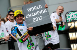 Franco Morbidelli world champion Moto2 2017
