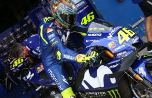 Valentino Rossi Yamaha MotoGP Buriram 2018