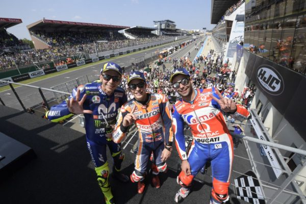 podio-LeMans-MotoGP