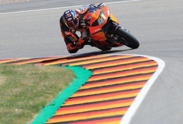 Moto2 Germania: vince Binder, primo podio per Marini