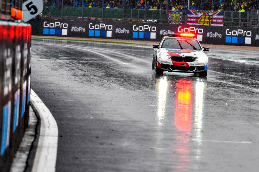 Silverstone pioggia MotoGP 2018