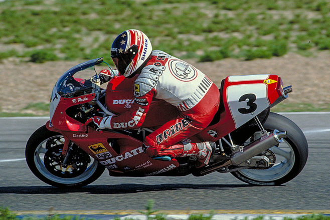 Raymond Roche Ducati 1990