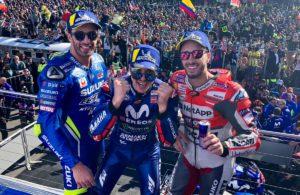 podio-Phillip-Island-MotoGP-2018