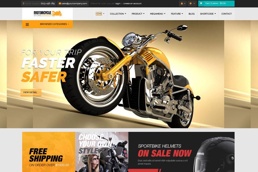 ricambi accessori moto online shop