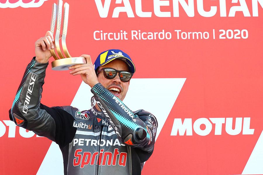 Franco Morbidelli Valencia MotoGP 2020