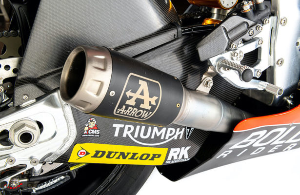 Gresini Racing e Arrow Special Parts